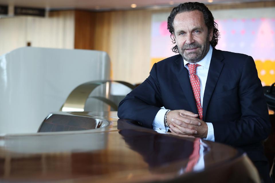 Portrait de Thomas Flohr, fondateur de VistaJet, une compagnie aérienne charter suisse fondée en 2004 à Tsim Sha Tsui. 22SEP17 SCMP / Nora Tam