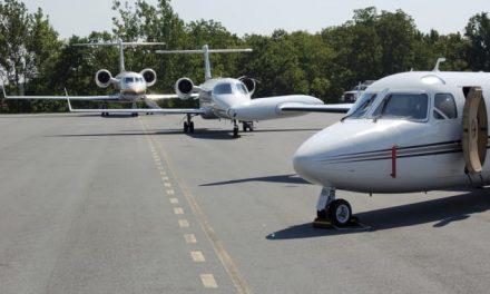 Location de jet privé: réduction de la demande