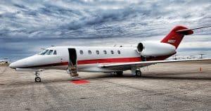 Diminution de la demande de jet privé