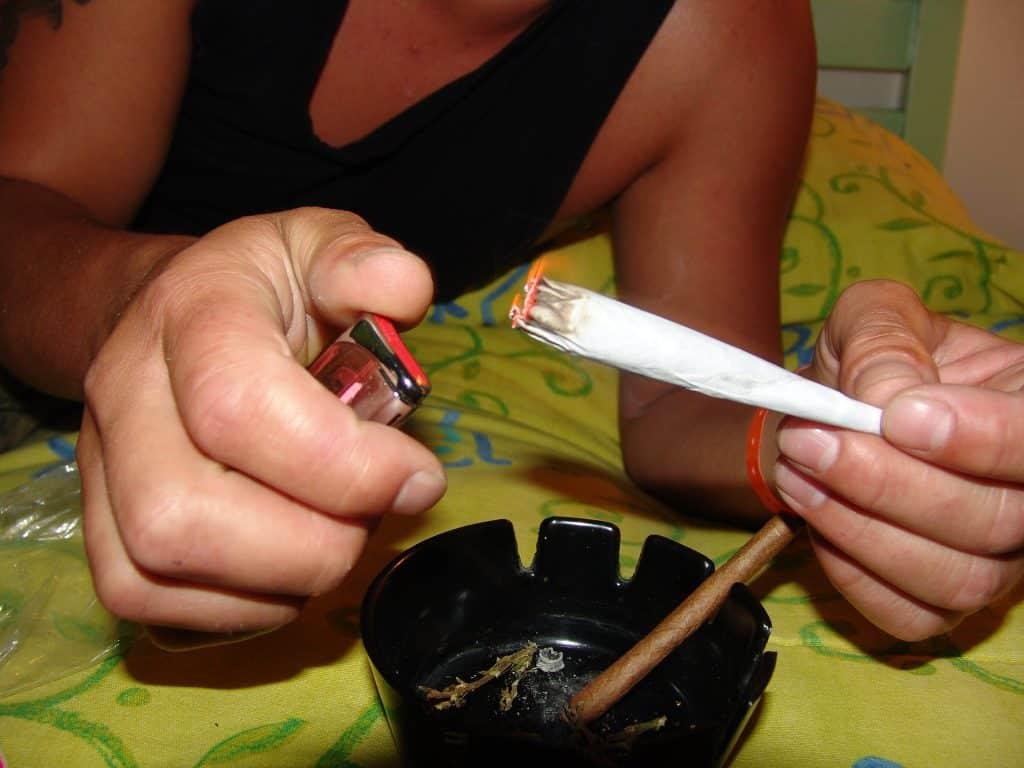 Fumer moins de cannabis