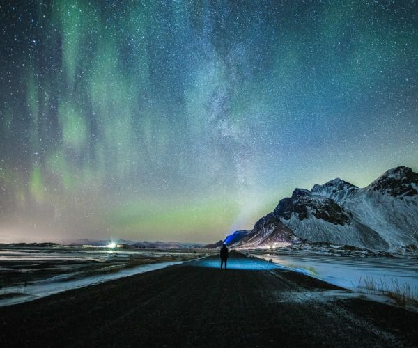 Histoires d'Islande : La péninsule de Snaefellsnes sous les aurores boréales