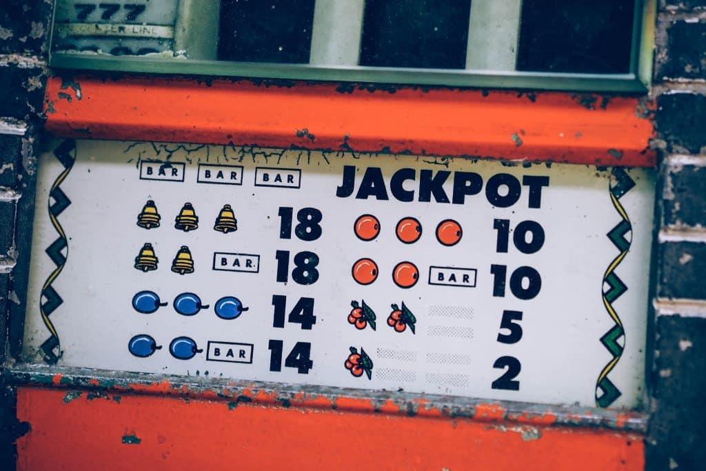 Jackpot machine à sous