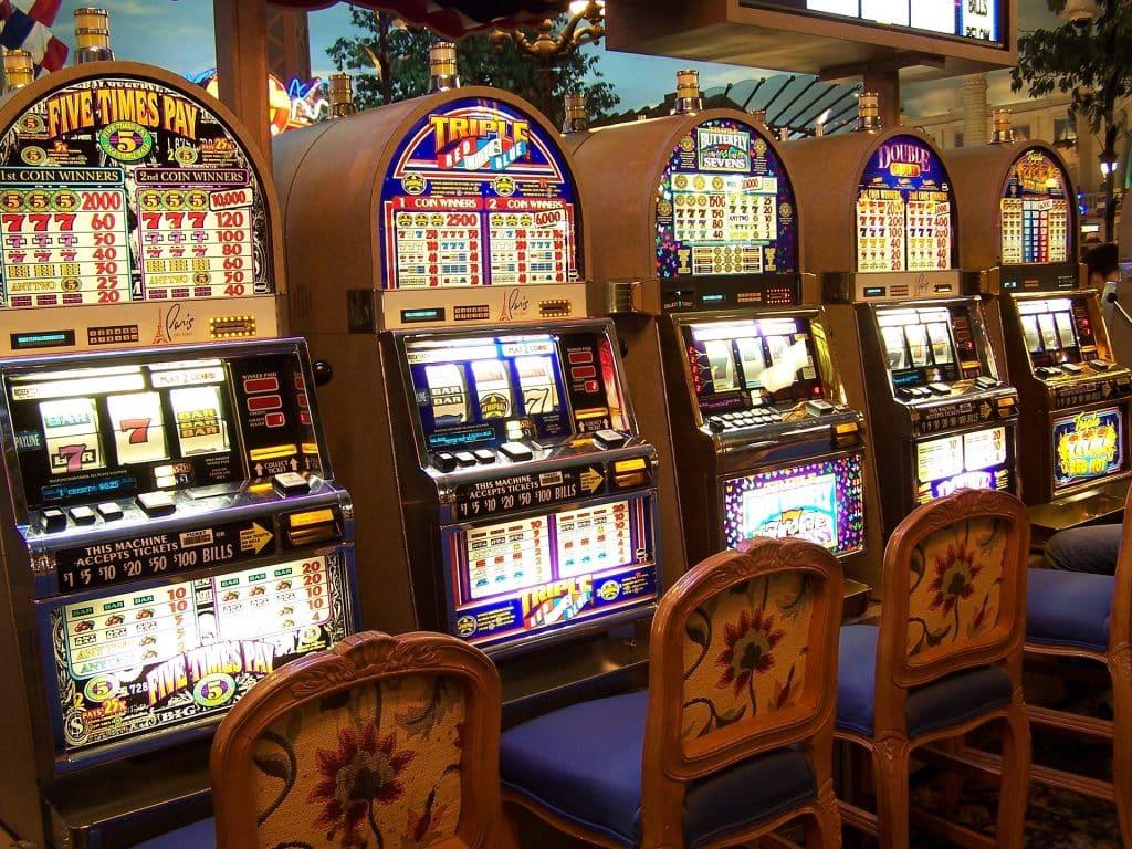 Machine à sous dans les casinos