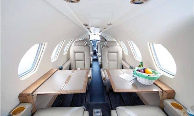 Découvrir le jet Citation V : la performance et le confort