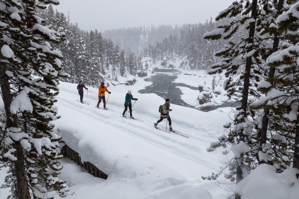 Du ski de fond en Alaska