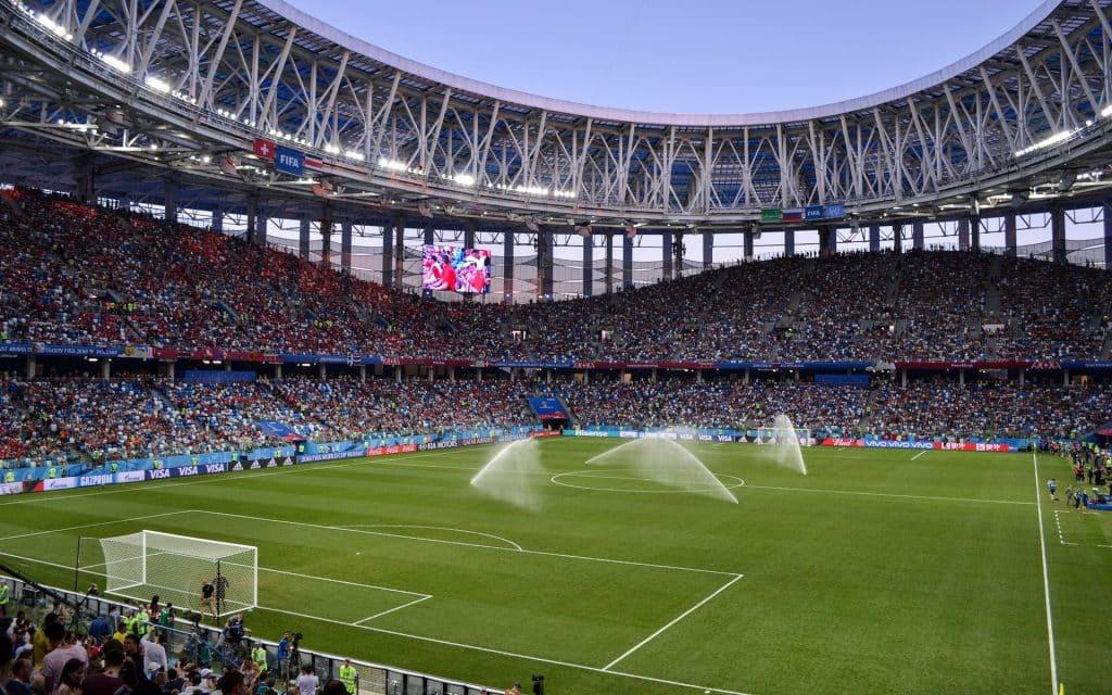 Le stade pour le world 2020