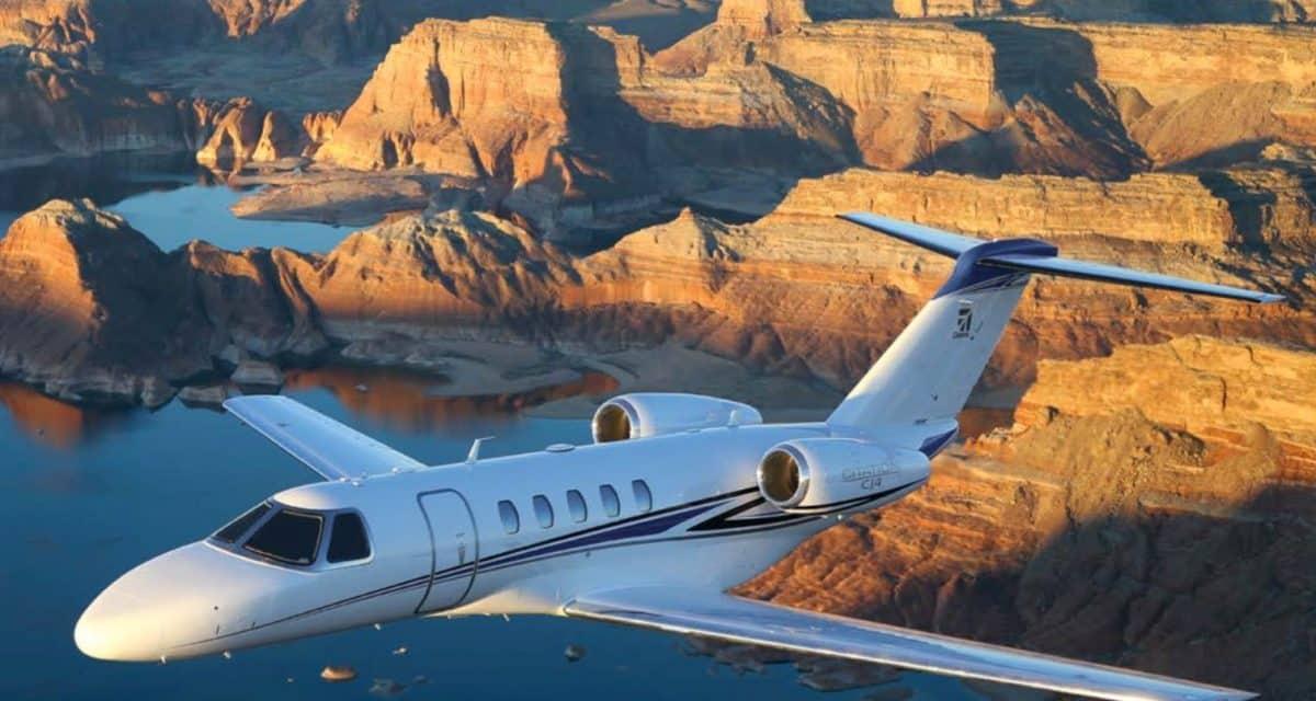La citation CJ4 : un jet léger d'élite