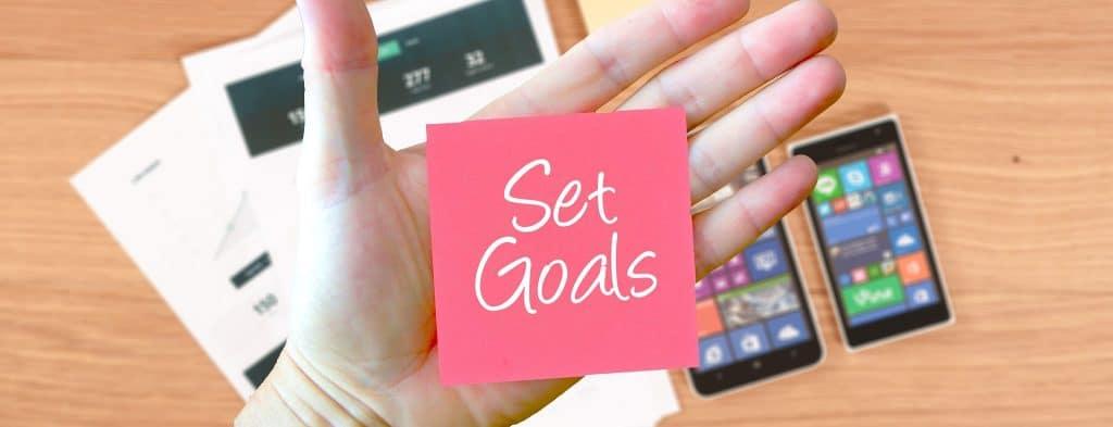 Les buts pour l'avenir