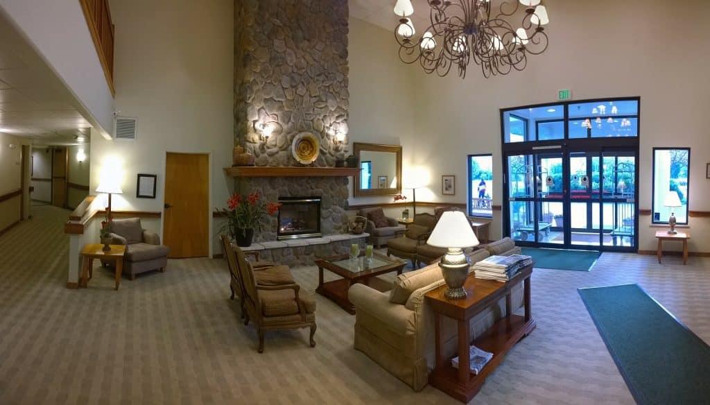 hôtel suite de luxe
